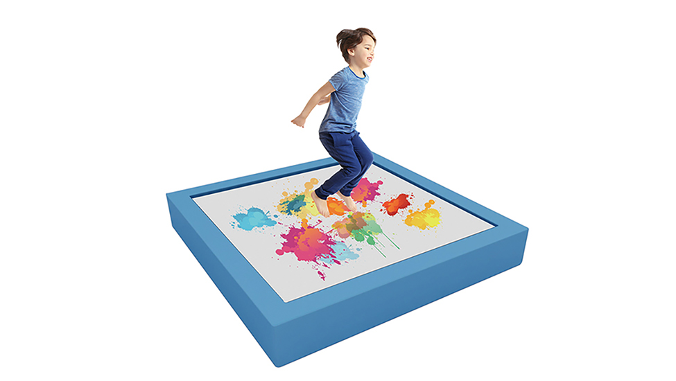 Interactive Children Trampoline