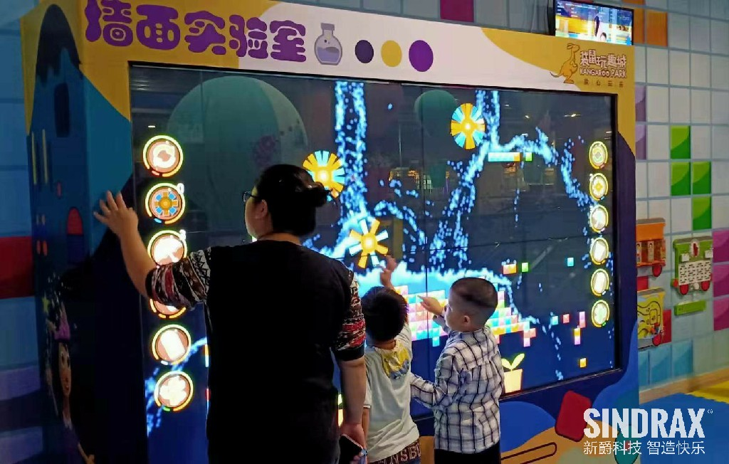 Interactive Touch Screen game