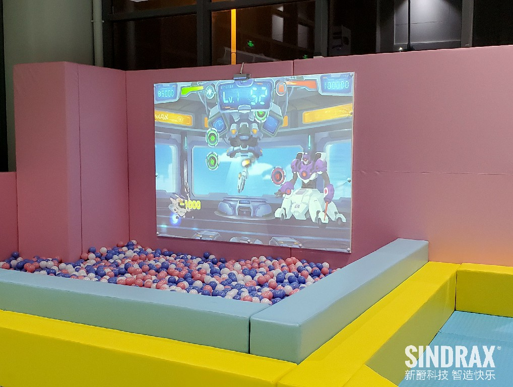 Interactive Wall Projection