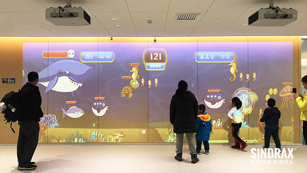 Interactive Solution For Retail Kids Corner