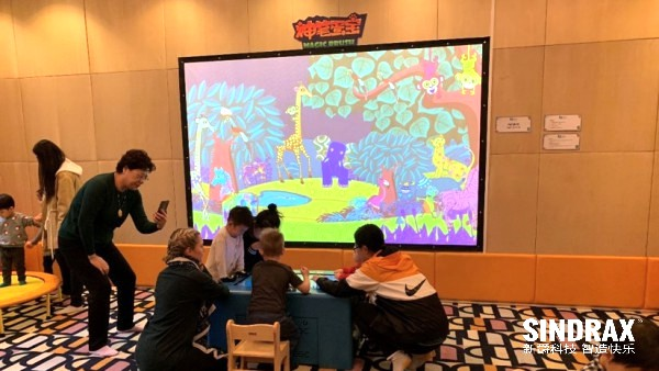 interactive solution for Preschool Activity Room