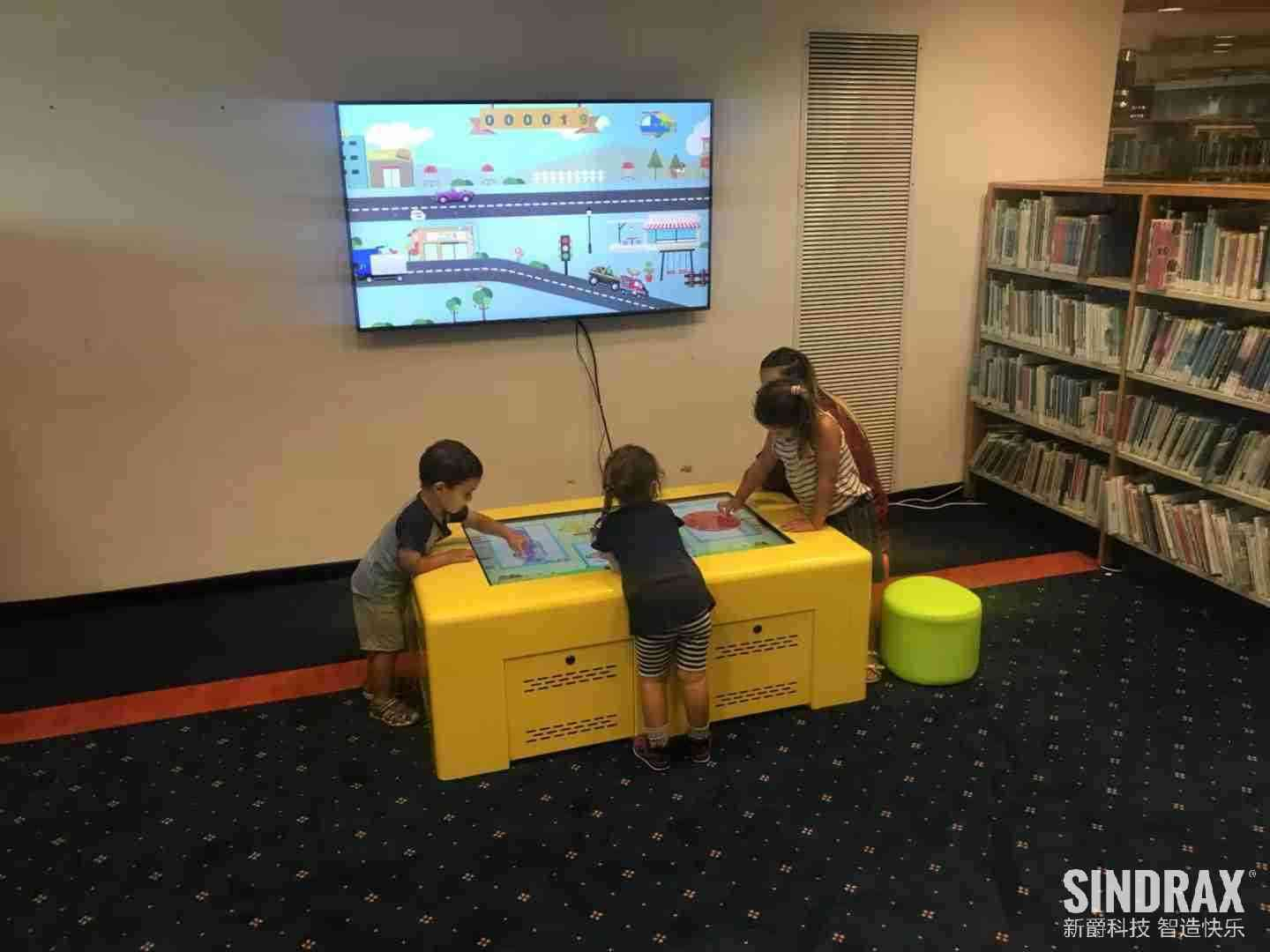 Israel Library interactive game