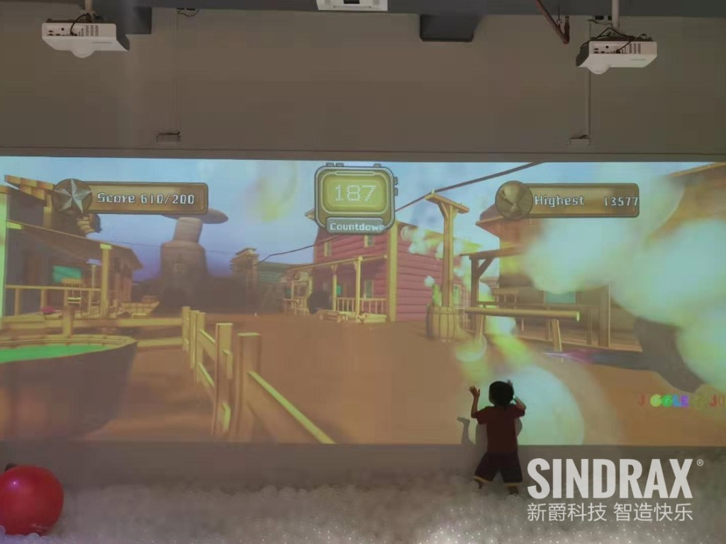 jiggle jungle indoor playground magic ball interactive wall projection